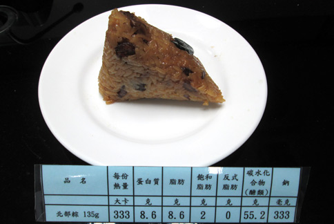 一般北部粽(攝影/黃子倫)