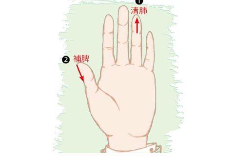 手指健康操提升免疫力,要學會清肺、補脾。