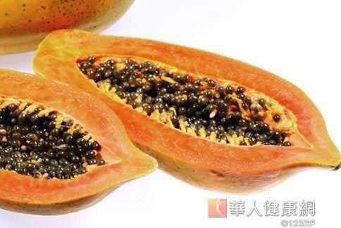 木瓜有幫助消化、促進排便的效果,屬於平和性水果。