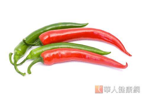 美國營養師建議,食物裡適度加一點辣椒可以加速新陳代謝的速度,對抗壓力所造成的低代謝率。