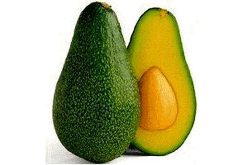 酪梨不只飽含能保護心血管的單元不飽合脂肪,原來還含有比香蕉還多的鉀,可以幫助減緩脹氣。(圖片/取材自維基百科)