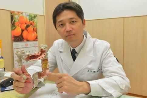 呂宗儒醫師(如圖)表示,大腸癌是影響國人健康隱形殺手,且有年輕化趨勢。(圖片提供/台北慈濟醫院)