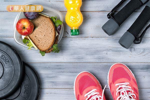 健康的生活形態能幫助減少荷爾蒙失調的情況出現。