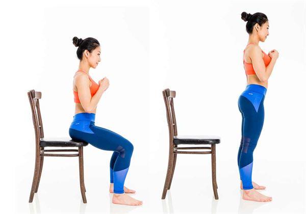 然後坐下,再站起,重複做20~30次。(圖片/三采文化提供)