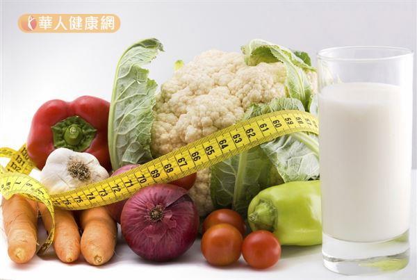 不想被減重停滯期困住,減重族應培養正確的減重觀念,選擇食物必須重質不重量。