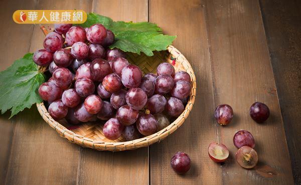 葡萄籽中的前花青素,也是生物類黃酮的一種。