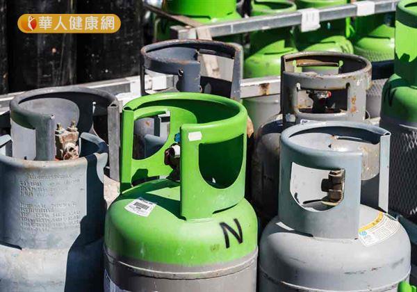 瓦斯器具放置地方不當,導致空氣不流通,容易導致瓦斯氣爆。