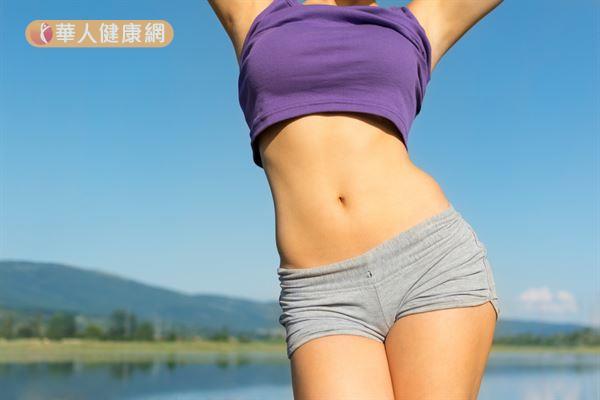 核心肌群指的是胸肋骨以下至大腿上半部,環繞身體一圈的部位。