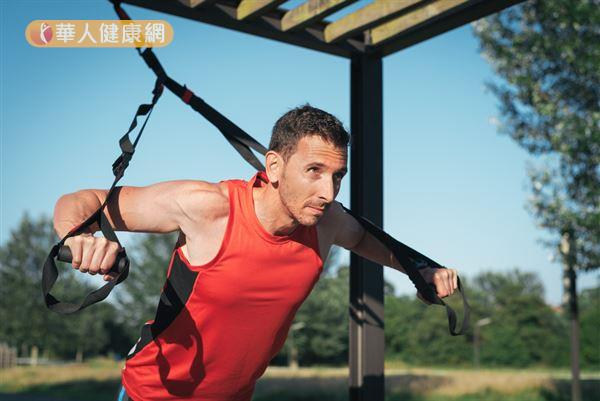 TRX源自於美軍在外地時的訓練,經過改良之後成為一種風行世界的健身方式。