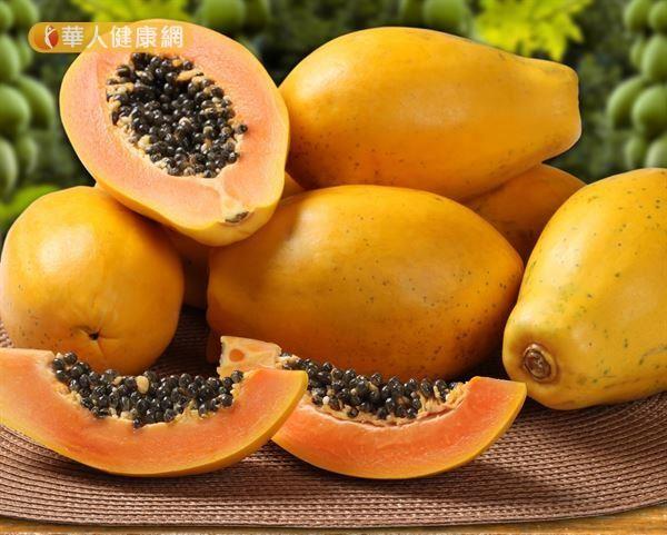 葉黃素可以從食物中攝取獲得。