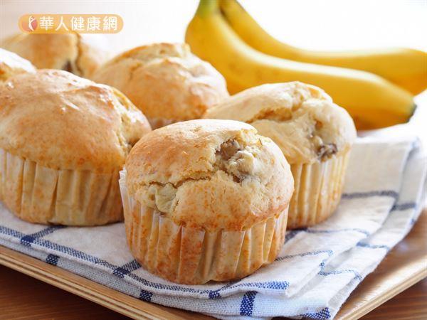 一項研究讓受試者輪流吃香蕉瑪芬或杏仁當點心,測試杏仁對膽固醇的影響。