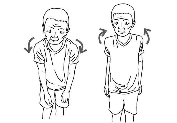 雙肩往前或往後旋轉,各重複10次。(圖片/大田出版提供)