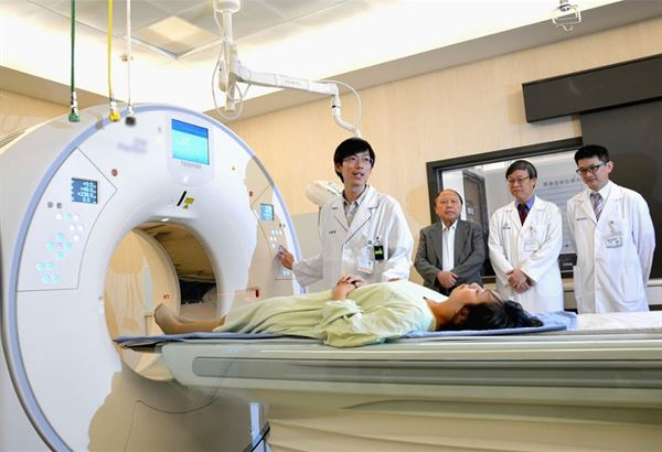 員基引進低劑量電腦斷層掃描儀,該儀器已被公認是早期篩檢肺癌的利器。(圖片提供/員林基督教醫院)