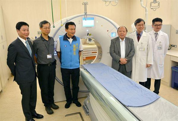 低劑量電腦斷層掃描儀除了偵測肺部腫瘤,也可以運用在心臟、肝臟,以及其他的器官的檢測。(圖片提供/員林基督教醫院)