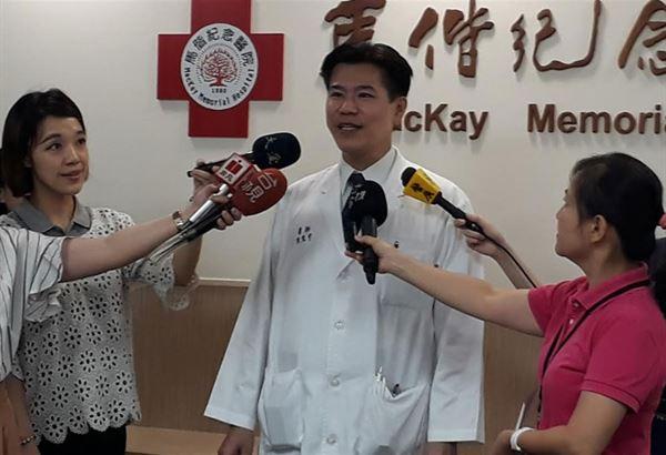 馬偕紀念醫院婦產科部高危險妊娠科主任陳震宇表示,同卵雙胞胎胚胎發育過程中約有10至15%的機會出現雙胞胎間輸血症候群。(圖片提供/馬偕醫院)