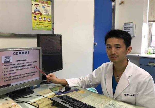 大里仁愛醫院泌尿科主治醫師張志鵬表示,腹股溝疝氣就是坊間俗稱的「脫腸」,可謂外科的常見疾病之一。(圖片/張志鵬醫師提供)