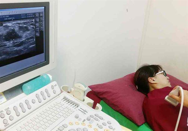 .乳房超音波,適合35至44歲婦女。(圖片提供/恩主公醫院)