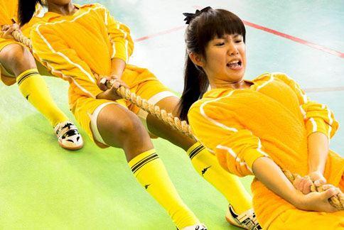 電影《志氣》描述景美女中拔河隊在取得世界拔河賽前的辛苦訓練過程。(圖片/取材自「志氣」臉書)