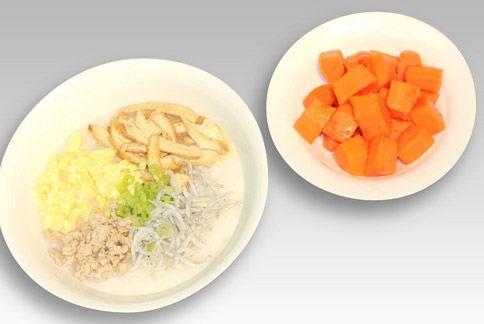 早餐之二╱吻魚瘦肉粥。(圖片提供╱如新公司)