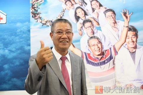 大林生活科技公司董事長林桂鋒(如圖),深深感覺健康才是最大財富。(攝影/江旻駿)
