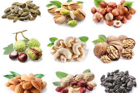 衛福部建議每天多吃一份瓜子、杏仁果、胡桃、開心果、腰果、芝麻及南瓜子等堅果。