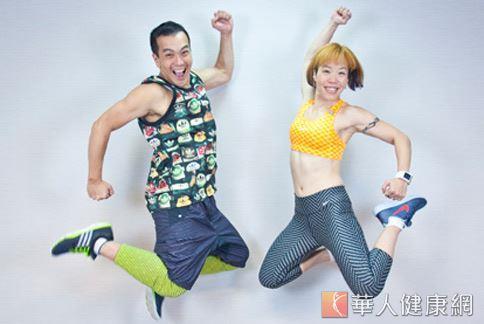 舞蹈加上體適能運動,可加強心肺功能並提升脂肪燃燒的速率。(圖/江旻駿攝影)