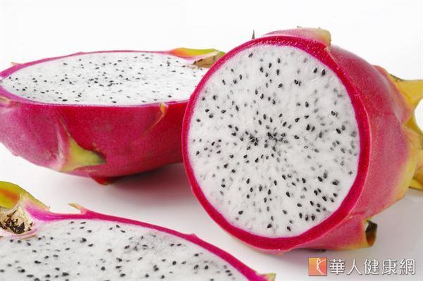火龍果含有大量具解毒功能的花青素,能夠消除活性氧、抑制癌細胞生長。