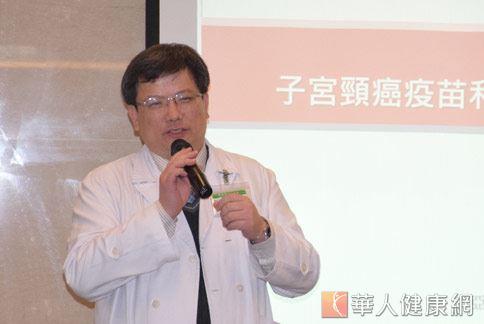 蕭聖謀醫師(如圖)強調,卵巢癌的真正起因,到目前仍不明瞭,但可以確定的是,卵巢癌不會經由傳染得到。(圖片提供/亞東醫院)