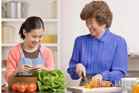 多攝取水果疏菜及纖維高的食物,能降低婦癌發生風險。