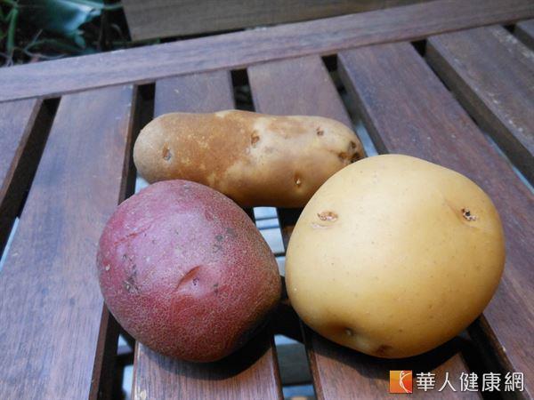 馬鈴薯等塊莖類植物也富含抗性澱粉,可幫助控制血糖、預防大腸癌。