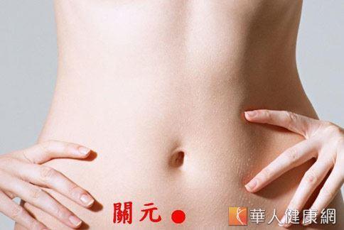 關元穴位於臍中下3寸處,可調肝補腎。(圖片提供/台灣基層中醫師協會)