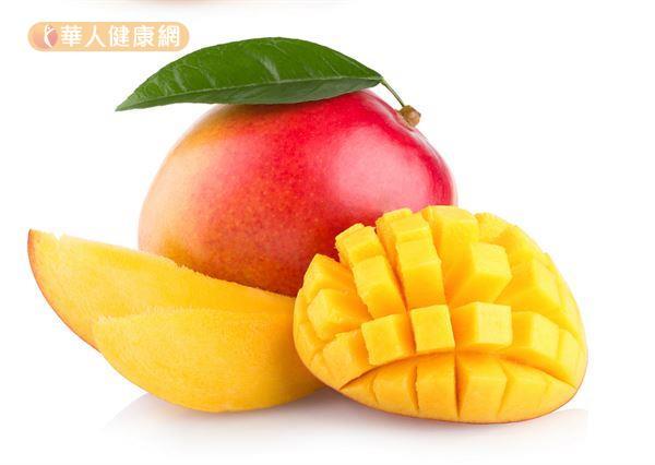芒果香甜多汁,也含有多酚和抗氧化物,適量食用有益健康。