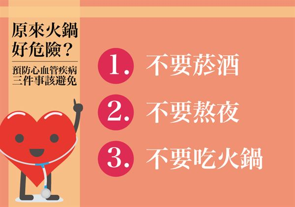 原來火鍋好危險?預防心血管疾病三件事該避免