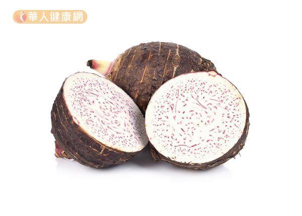 芋頭營養價值高,還有助減重、解便祕、消水腫。