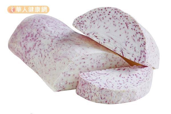 芋頭可以代替白飯當作主食,也能做成熱量較低的甜點。