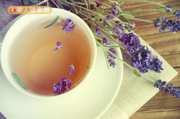 薰衣草茶有助舒緩壓力,民眾可以在醫師的指導之下適度飲用。