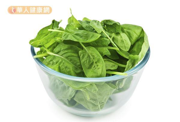 菠菜營養豐富,在國外被譽為「超級食物」。