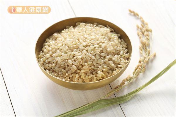 糙米的營養比白米更豐富,而且屬於中GI的食物,有助穩定血糖和減重。