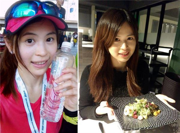 張佩蓉營養師的飲食非常健康,每天都會攝取豐富的蔬菜和充足的水分!(圖片/張佩蓉營養師提供)