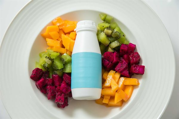 不正常生活建議,多吃蔬果,補充國家健康食品認證優酪乳,維持腸道菌相。