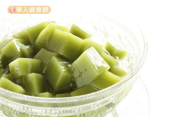 ▲圖片來源/華人健康網提供  抹茶寒天凍
