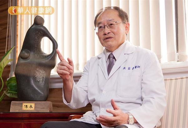 高雄榮民總醫院張宏泰副院長表示,針對預後較差的早期HER2陽性乳癌患者,為了能達成乳房保留手術,現在已經有突破性治療策略,即採取乳癌術前化療、搭配使用抗HER2標靶藥物輔助治療。(攝影/江旻駿)