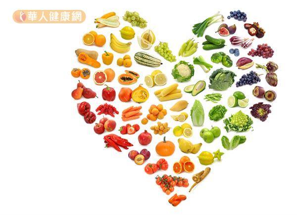 五顏六色的蔬果含有豐富的維生素、礦物質、植化素,與人體免疫系統的運作息息相關。