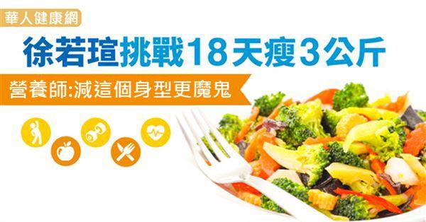 徐若瑄挑戰18天瘦3公斤 營養師:減這個身型更魔鬼