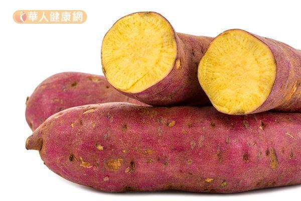 地瓜皮含有豐富的「粘液蛋白」,是一種多醣類物質,可以降低血中膽固醇的含量。
