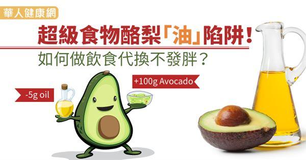 超級食物酪梨「油」陷阱!如何做飲食代換不發胖?