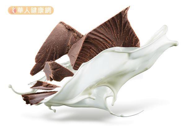 選擇不含糖或糖分含量低的巧克力,食用時仍應適量,對健康比較不會影響。