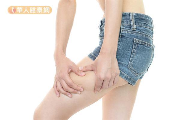 中醫認為下半身肥胖的人大多屬於「脾虛濕盛」體質。