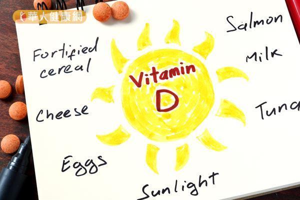 維生素D對於維持骨骼健康也扮演著重要的角色。