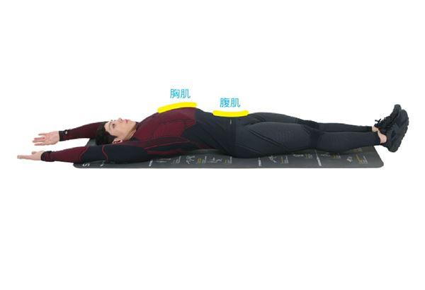 平躺抬腿1。(圖片提供/橙實文化)